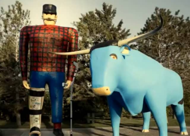 How Paul Bunyan and Babe will help the Affordable Care Act (and MNsure) 1